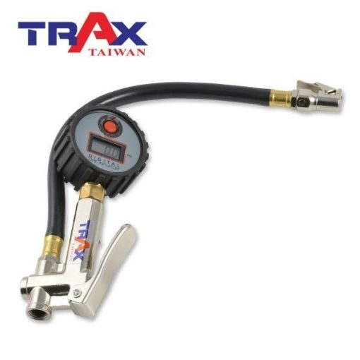 ARX-75CC [三用型夾頭電子式輪胎打氣胎壓計(160psi)] 2 - *電子顯示,打氣更精確! *錶頭可360度旋轉,方便各角度檢視胎壓。 *三用型,打氣、測壓、洩氣一次完成。 *夾式進氣頭設計適合機車及腳踏車使用。 *90秒自動斷電 *可自行更換CR2032電池