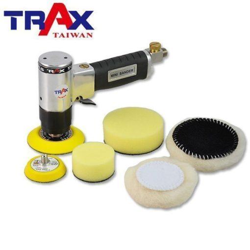 "ARX-902[無偏軸低轉速高扭力氣動拋光機/砂光機/研磨機]RO單軸機(含海綿組) 3 - <div>最大 轉數 2,300 rpm</div> <div>偏軸 無</div> <div>使用壓力 90psi</div> <div>重量 0.85kg</div> <div>螺牙規格 5/16""╳24threads</div> <div></div> <div>附件</div> <div>一.說明書</div> <div>二.快速接頭</div> <div>三.裝卸板手</div> <div>四.保養油</div> <div>五.3吋轉盤 & 2吋轉盤</div> <div>六.3吋拋光海綿 & 2吋拋光海綿</div> <div> 3吋羊毛輪 & 2吋羊毛輪</div>"