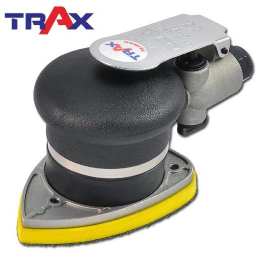 TRAX ARX-3310 三角氣動砂光機/研磨機/烤漆砂光機 3 - <div>三角形研磨盤,直線、尖角及細縫處均可有效研磨,專門處理圓盤無法處理到的地方。</div> <div>採用高負荷專用軸承,運轉順暢、耐操有力</div> <div>人體工學防滑橡膠設計,體積小好握 、 好操作</div> <div>3.2mm偏軸旋轉切銷力強,精緻烤漆研磨砂光專用</div> <div>超輕量化機身,只有0.7kg</div> <div>可微調轉速,拋光、研磨都好用</div> <div>汽車、重機、自行車、板金拋光、壓克力、玻璃拋光輕鬆上手!</div>