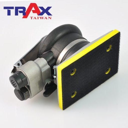 TRAX ARX-4310 四角氣動砂光機/研磨機/烤漆砂光機 5 - <div>轉數: 10,000 rpm</div> <div>偏軸: 3.2mm</div> <div>盤子尺寸: 75mm(寬)*100mm(長)</div> <div>使用壓力: 90psi</div> <div>重量: 0.7 kg</div> <div>長度: 135mm</div> <div></div> <div>附件</div> <div>一.說明書</div> <div>二.快速接頭</div> <div>三.裝卸板手</div> <div>四.保養油</div>