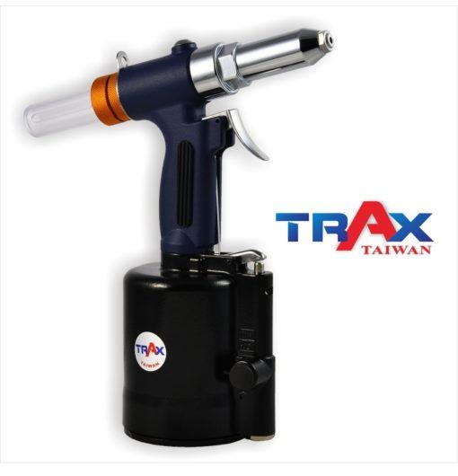 "ARX-614S [6.4mm(1/4"")鋁拉釘/鐵拉釘/不鏽鋼拉釘/氣動拉釘機/氣動液壓拉釘機] 3 - <div>•3,528 lbf瞬間液壓大拉力,拉釘斷面漂亮,鉚合力強!</div> <div>•1. 78kg輕量化機身</div> <div>•人體工學防滑手柄</div> <div>•輕鬆壓短版機,好握,好操作!</div> <div>•L型活動接頭,輕鬆工作不斷氣</div> <div>•可拉6.4mm(1/4"")不銹鋼釘</div>"