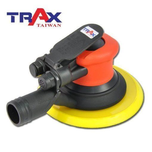 TRAX ARX-OB51-C6 (6吋5mm偏擺專業級中央式集塵氣動研磨機) 5 - <div>專業級精密配重調教,防塵專業級二合一單顆培林,超低震動及平穩運作,重量輕、運轉順暢、壽命長!</div> <div>5mm偏擺,11,000高轉速,適合各式研磨使用!</div> <div>人體工學防滑橡膠設計,握感極佳、操作穩定。</div> <div>超輕量化塑鋼機身,加轉盤只有0.9kg</div> <div>可微調轉速。</div> <div>中央集塵式研磨機需搭配集塵機使用!</div> <div>適合專業烤漆、鈑金、拋光、研磨之最佳利器!</div>