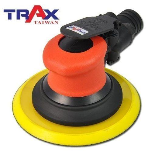 TRAX ARX-OB51-C6 (6吋5mm偏擺專業級中央式集塵氣動研磨機) 3 - <div>專業級精密配重調教,防塵專業級二合一單顆培林,超低震動及平穩運作,重量輕、運轉順暢、壽命長!</div> <div>5mm偏擺,11,000高轉速,適合各式研磨使用!</div> <div>人體工學防滑橡膠設計,握感極佳、操作穩定。</div> <div>超輕量化塑鋼機身,加轉盤只有0.9kg</div> <div>可微調轉速。</div> <div>中央集塵式研磨機需搭配集塵機使用!</div> <div>適合專業烤漆、鈑金、拋光、研磨之最佳利器!</div>