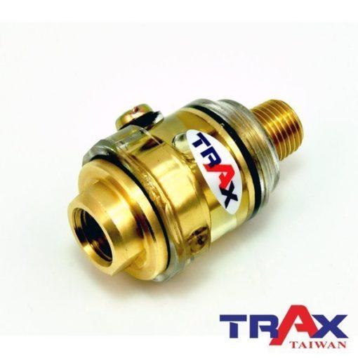 Trax 氣動工具自動給油器自動油壺自動注油器 3 - <div>氣動工具使用時就給油,即時保護、即時潤滑,加強工具運轉性能,讓您事半功倍效率高!</div> <div>加油免停機!</div> <div>全銅打造壽命長!</div> <div>透明瓶身,即時知道油量!</div>