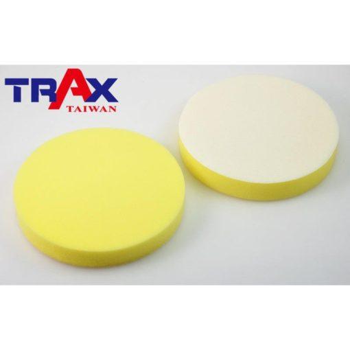 8吋黃色魔鬼氈打臘海綿 3 - 8吋上粗蠟、除紋研磨劑專用,黃色平面硬粗海綿,中切削