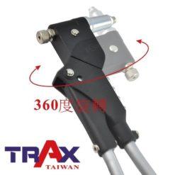 ARX-H93[360度旋轉頭手動式省力型6.4mm拉釘M10拉帽工具組] 6 - <div>專利360度旋轉拉釘拉帽頭,可用於各種局限空間環境!</div> <div>拉釘拉帽2機1體,1組底兩組!</div> <div>特殊省力裝置,工作輕鬆有效率!</div> <div>汽、機車、機械產品修護必備手工具組!</div>