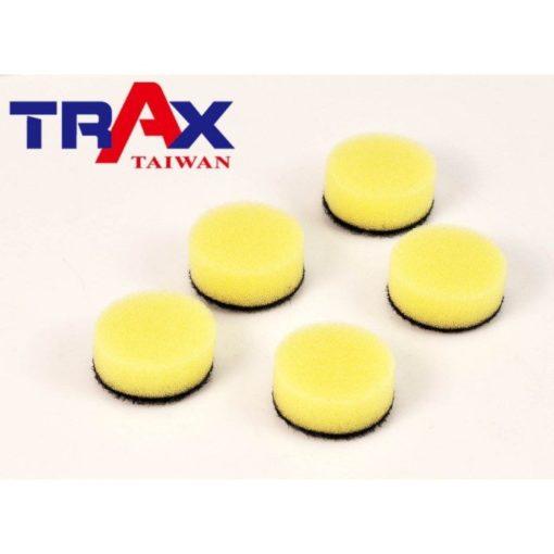 30mmx10mm 黃色拋光海綿 研磨除紋拋光打蠟海綿 (ARX-1105DS 點磨機) 2 - ARX-1105DS氣動點磨機專用拋光海綿
