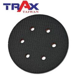 6吋6孔魔鬼氈專業黑色氣動硬盤 5 - 特點:斜度高可伸入隙縫研磨,扎實用料耐磨耗,平穩好操作!