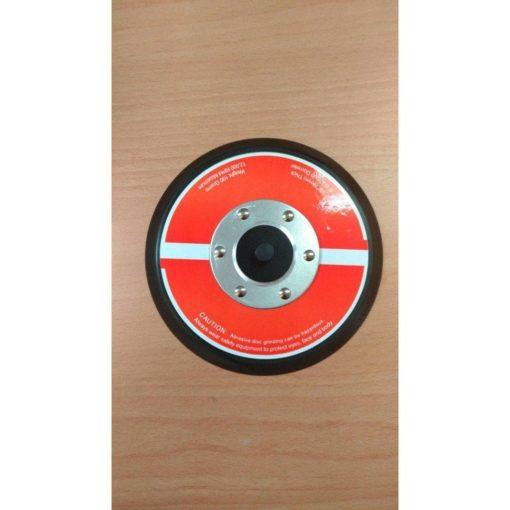 5吋魔鬼氈專業黑色氣動自黏盤 3 - 氣動研磨機拋光機高斜度黑盤
