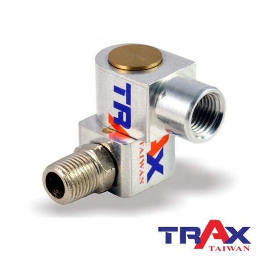 "ARX-SL14 [720度旋轉氣動萬向轉接頭] 3 - 材質: 鋁合金 旋轉角度:720度 規格:1/4""PT (2分)"