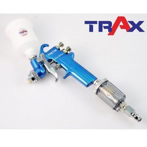 "TRAX ARX-S62 1/4"" PT 簡易型噴槍濾水器 4 - <div>連接工具作為高壓空氣的最後一到過濾。</div> <div>有效防止水氣或油氣進入噴槍及氣動工具,提高空氣品質及工具使用壽命。</div> <div>按壓排水後可重複使用!</div> <div>提高噴漆品質,保護氣動工具之最佳利器。</div>"
