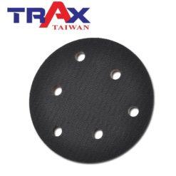 5吋6孔魔鬼氈專業黑色氣動硬盤 5 - 特點:斜度高可伸入隙縫研磨,扎實用料難磨耗,平穩好操作!