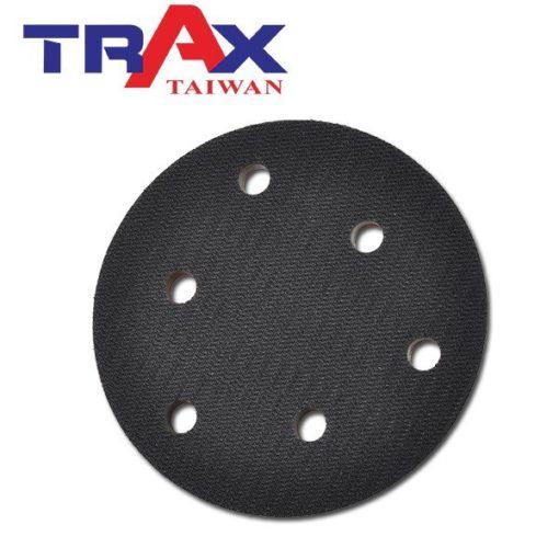 5吋6孔魔鬼氈專業黑色氣動硬盤 4 - 特點:斜度高可伸入隙縫研磨,扎實用料難磨耗,平穩好操作!