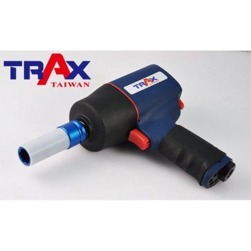 """ARX-403D5M [4分(12"""")3件式高強度鉻鉬鋼材防傷氣動套筒組] 4 - *防傷外套及內墊,保護輪框及螺栓,避免摩擦損傷! *整組高強度鉻鉬鋼材(Cr-Mo)打造,除了好用更耐用! *特殊熱處理,強化硬度、提高韌性 *藍色,金色,紅色分別代表17,19,21mm 避免使用錯誤! *汽機車修護必備套筒組"""