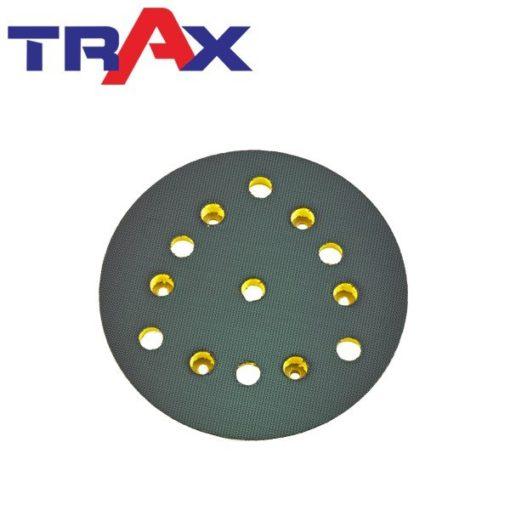 ARX-GD51C 5吋6孔吸塵專用盤 4 - 短鉤黏扣切削力直接傳遞並延長砂紙絨毛壽命