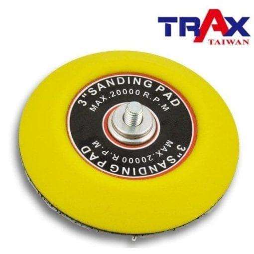 3吋6mm1.0外牙魔鬼氈黏扣盤 3 - <div>最大使用轉數 12,000 rpm</div> <div>轉盤大小 3吋(76.2mm)</div> <div>牙規 6mm*1.0外牙</div>