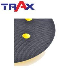 ARX-GD51C 5吋6孔吸塵專用盤 9 - 短鉤黏扣切削力直接傳遞並延長砂紙絨毛壽命
