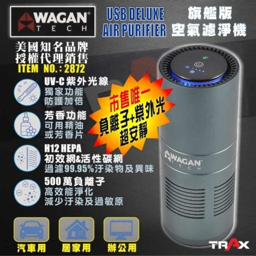 WAGAN TECH 2872 HEPA H12旗艦版空氣濾清機/空氣清淨機 2 -