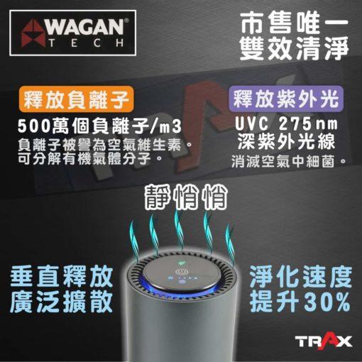 WAGAN TECH 2872 HEPA H12旗艦版空氣濾清機/空氣清淨機 3 -