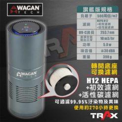 WAGAN TECH 2872 HEPA H12旗艦版空氣濾清機/空氣清淨機 15 -