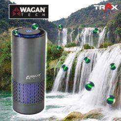 WAGAN TECH 2871 HEPA H13標準版空氣濾清機/空氣清淨機 11 - 專用濾網:HEPA H13等級+初效濾網 負離子:500萬個/平方公尺 紫外光:UVC 275nm 重量:280g 潔淨空氣輸出比率(CADR值):10 立方公尺/小時 功率:5W 噪音值:<38 dBA 外殼材質:鋁合金